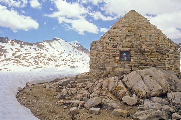 Wall Art - Photograph - A Hut Along The John Muir Trail, Sierra by Randall Levensaler