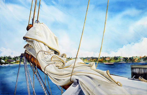 Painting - A. J. Meerwald Heading Out by Phyllis London