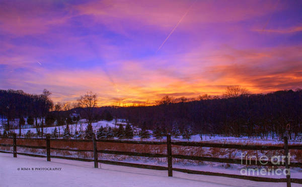 Photograph - A January Sunset by Rima Biswas