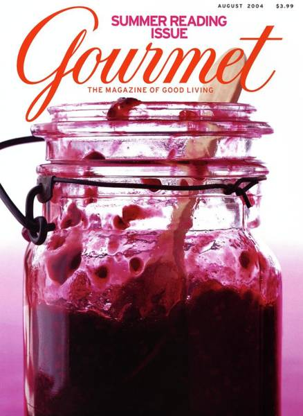 Spoon Photograph - A Jar Of Skillet Blackberry Jam by Romulo Yanes