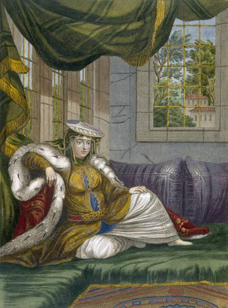 Courtiers Drawing - A Jewish Woman In Ceremonial Dress by French School