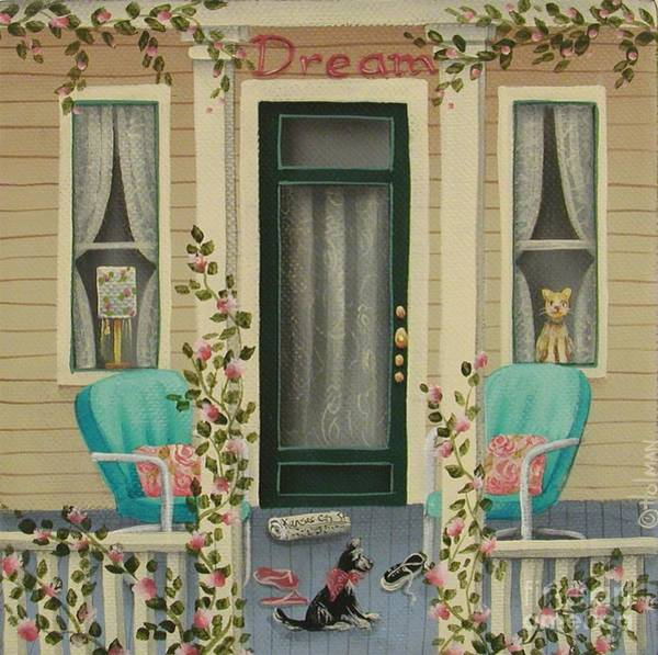 Porch Painting - A Lazy Saturday Morning by Catherine Holman
