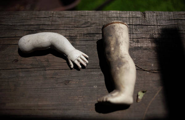 Doll Parts Photograph - A Leg And An Arm Of A Doll by Chico Sanchez