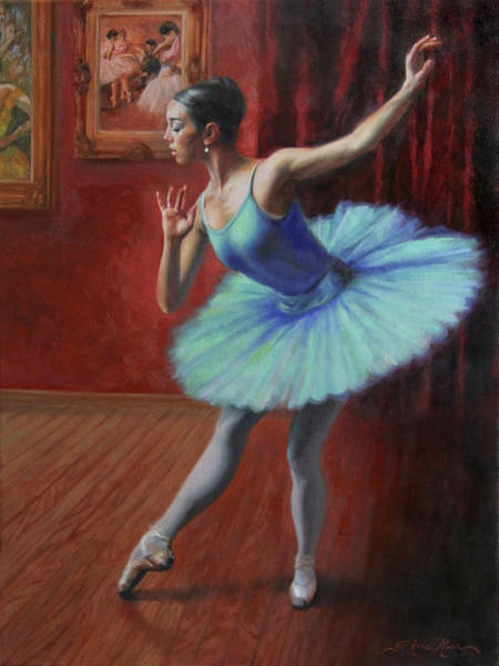 Dancers Wall Art - Painting - A Legacy Of Elegance by Anna Rose Bain