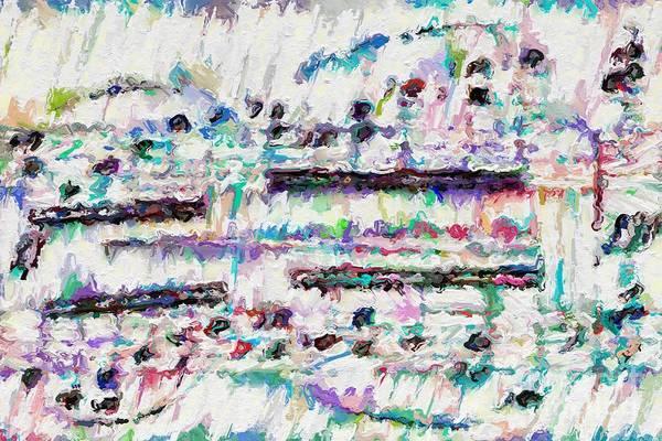Digital Art - A Light Motive by Lon Chaffin