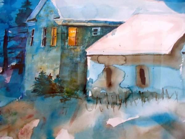 Flagstaff Painting - A Light Still Burns by Steven Holder