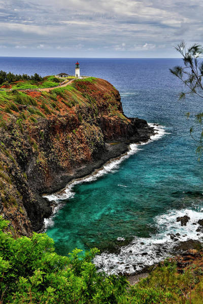 Wall Art - Photograph - A Lighthouse At The End Of A Trail by Scott Mead