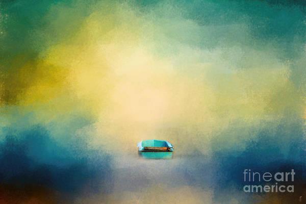 Photograph - A Little Blue Boat by Jai Johnson