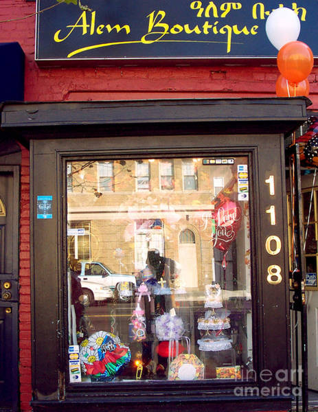 Photograph - Alem Boutique by Walter Neal