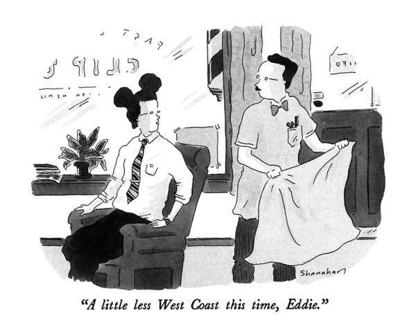 Disney Drawing - A Little Less West Coast This Time by Danny Shanahan