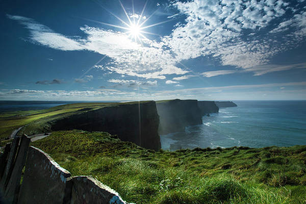 The Burren Photograph - A Little Sparkle - Cliffs Of Moher by Images By Steve Skinner Photography