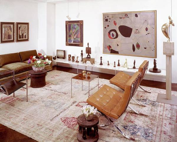 Juan Photograph - A Living Room Full Of Art by Wiliam Grigsby