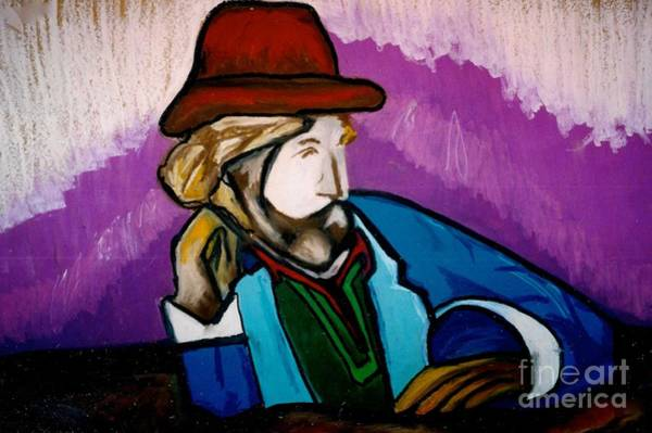 Drawing - A Local Man by Jon Kittleson