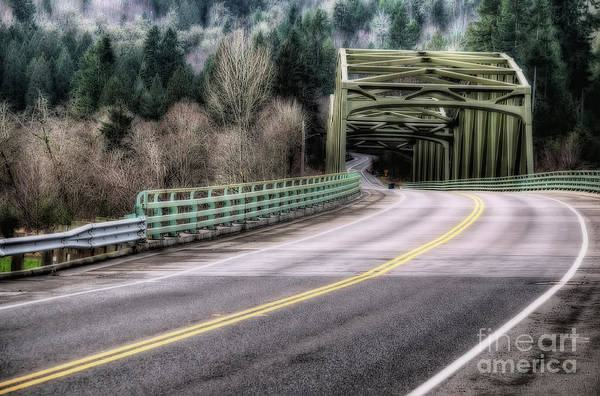 Wall Art - Photograph - A Lonely Road by Eddie Yerkish
