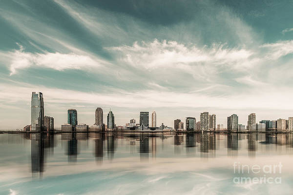a look to New Jersey  Art Print