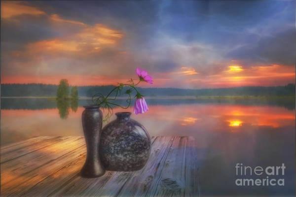 Fog Digital Art - A Lovely Morning by Veikko Suikkanen