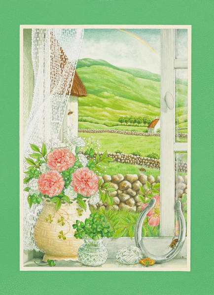 St Patricks Painting - A Lucky View by Lynn Bywaters