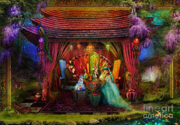 Aimee Stewart Wall Art - Photograph - A Mad Tea Party by MGL Meiklejohn Graphics Licensing