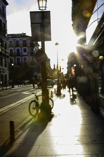 Wall Art - Photograph - A Madrid Street In Color by Madeline Ellis
