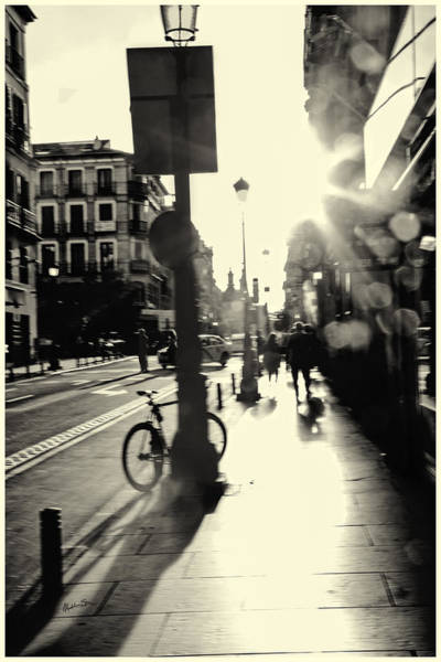 Wall Art - Photograph - A Madrid Street by Madeline Ellis