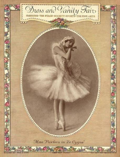 Dance Photograph - A Magazine Cover For Vanity Fair by Artist Unknown