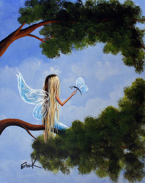Wall Art - Painting - A Magical Daydream Original Artwork by Erback Art