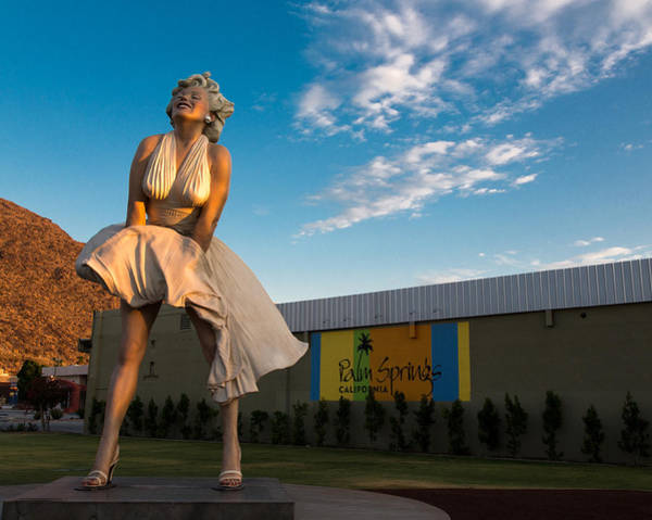 Southwest Photograph - A Marilyn Morning by John Daly