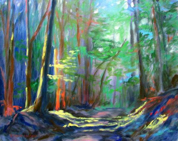 Bottom Painting - A Moment In Time by Bonnie Mason