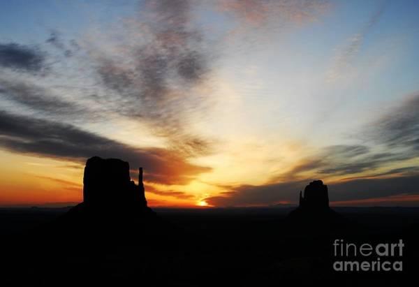 Photograph - A Monumental Sunrise by Mel Steinhauer