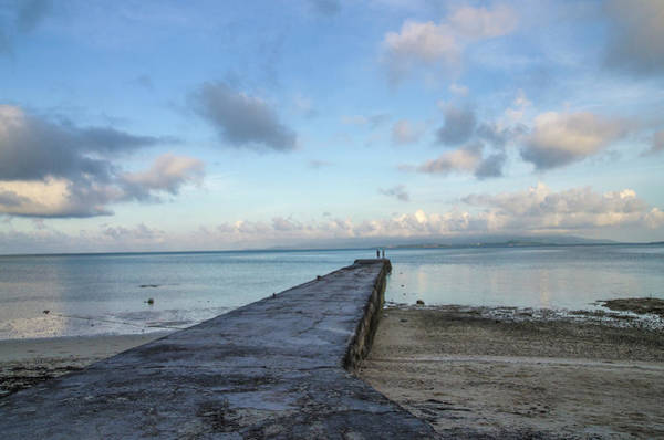 Okinawa Photograph - A Morning Pier by Tsuneo Yamashita
