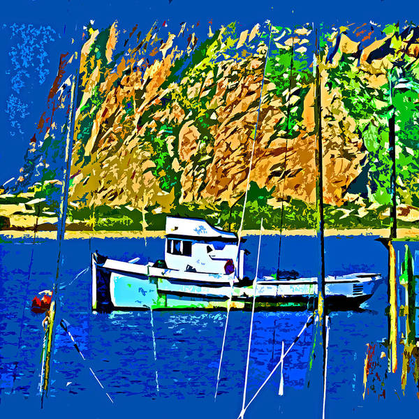 Photograph - A Morro Bay Fishing Boat by Joseph Coulombe