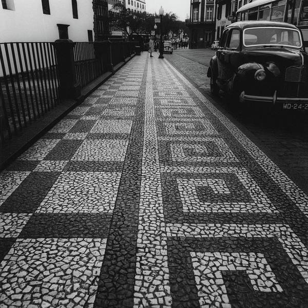 Iberian Peninsula Photograph - A Mosaic Footpath by Leonard Nones