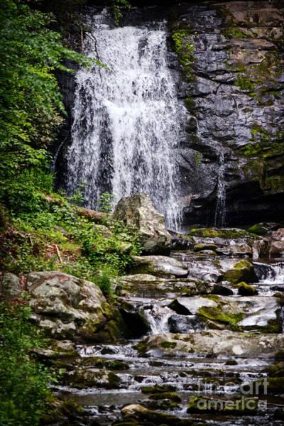 Wall Art - Photograph - A Mountain Waterfall by Eva Thomas