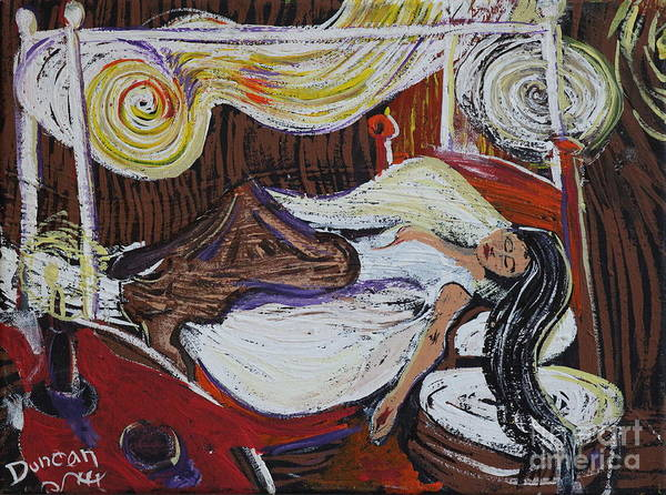 Painting - A Munch Night by Stefan Duncan