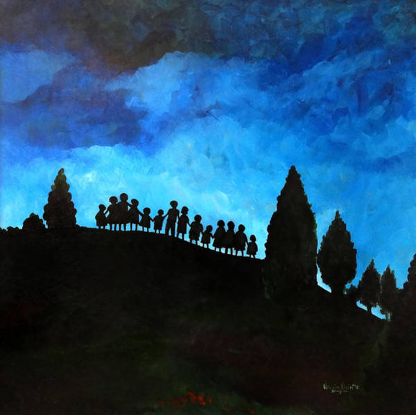 Togetherness Painting - A New Dawn Rising by Patricia Brintle