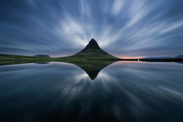 Iceland Wall Art - Photograph - A Night At Kirkjufell by Simon Roppel