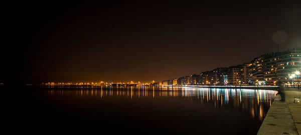 Photograph - a NIght in Salonica Greece by Sotiris Filippou