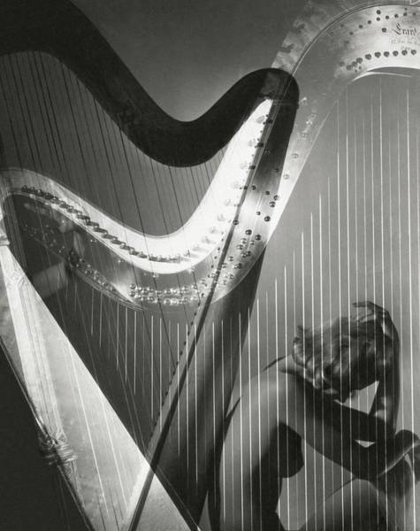 Music Photograph - A Nude Portrait Of Lisa Fonssagrives by Horst P. Horst
