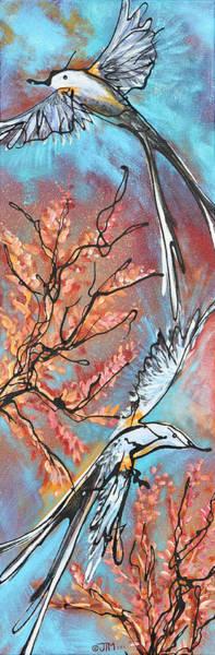 Flycatcher Painting - A Pair Of Scissors  by Jonelle T McCoy