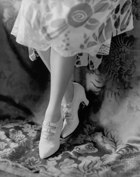 Pair Photograph - A Pair Of White Shoes by Edward Steichen