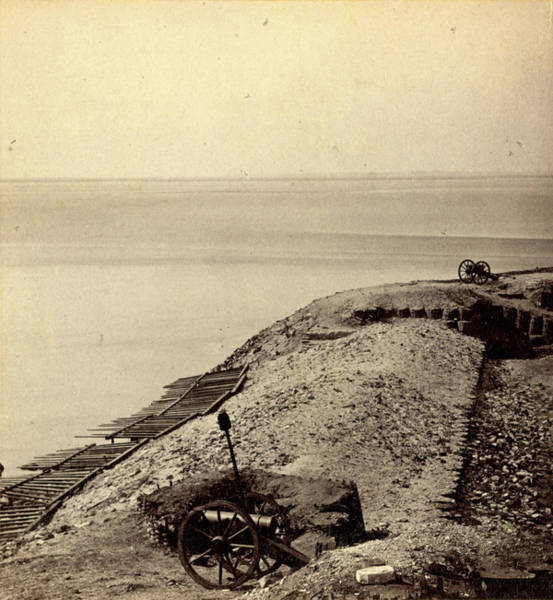 Fort Sumpter Photograph - A Parapet Of Fort Sumpter I.e. Sumter by Litz Collection