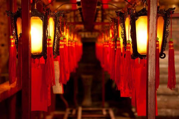 Hongkong Photograph - A Path Of Light And Prayers by Loriental Photography