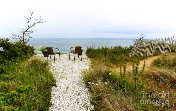 Respite Photograph - A Peaceful Respite By The Shore by Michelle Constantine