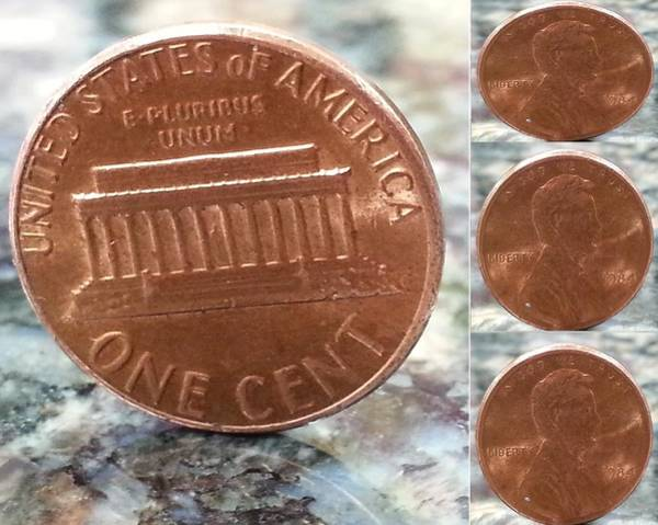 In God We Trust Photograph - A Penny For Your Thoughts by Emmy Vickers