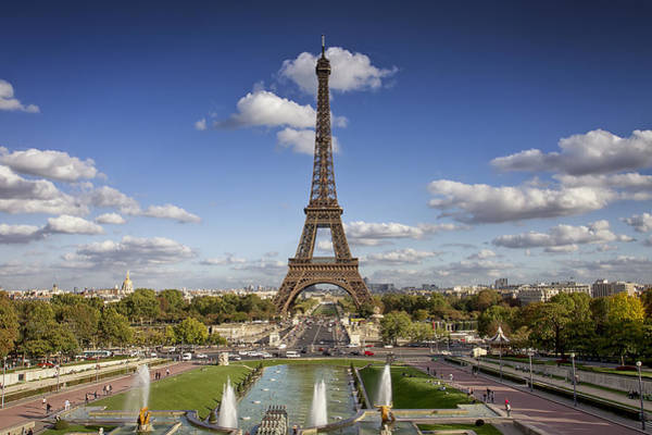 Photograph - A Perfect Day In Paris by Kim Andelkovic