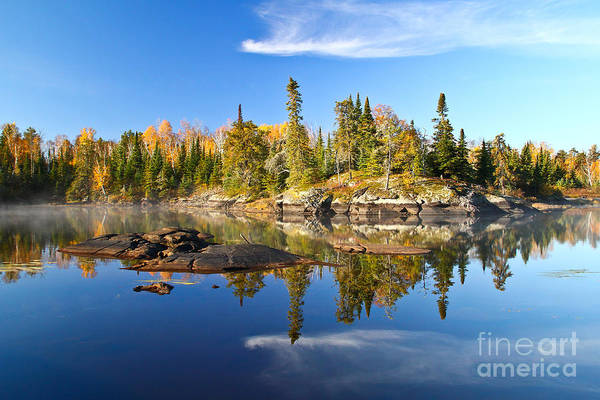 Bwcaw Photograph - A Perfect Fall Day In Bwca by Radiant Spirit Gallery