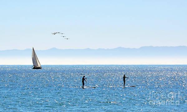 Photograph - A Perfect Santa Barbara Day by Susan Wiedmann