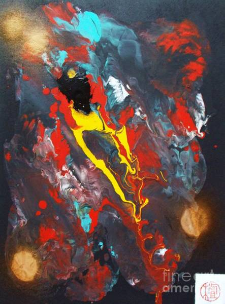 Reborn Wall Art - Painting - A Phoenix Reborn by Pg Reproductions