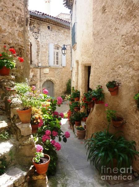 A Picturesque Village Of France Art Print