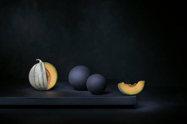 Fruit Photograph - A Piece Of Moon by Christophe Verot